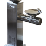 Pedestal bi-level water fountain SO-311
